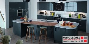 Paring Dark Cabinets With Ligh Worktop Can Give You A Stylish Kitchen